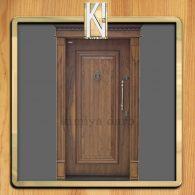 درب با روکش طبیعی کد 403