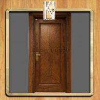 درب با روکش طبیعی کد 405